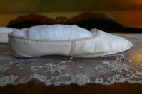 7 antique slip on shoes 1840