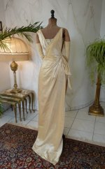 22 antique evening Dress 1919