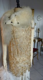 58 antique flapper dress 1920