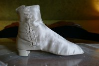 5 antique wedding Boots 1860
