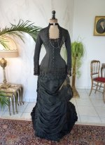 19 antique mourning dress 1879