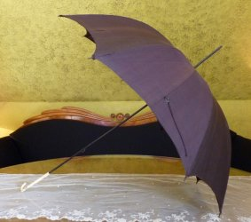 antique parasol