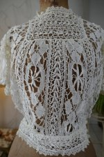 4 antique lace blouse 1916