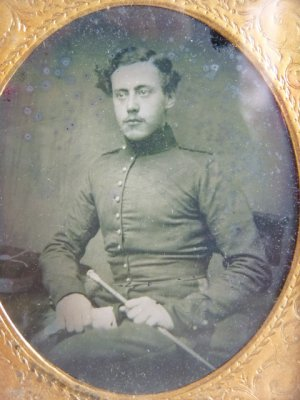 antique ambrotype 1860