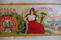 6 antique corset box 1880