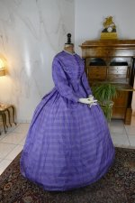24 antique crinoline dress 1860