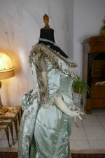 32 antique evening gown 1889