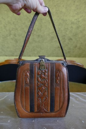 antique handbag 1918