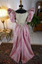 20 antique ball gown 1895