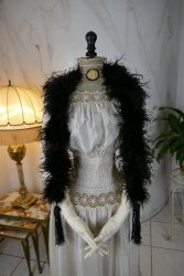 antique feather boa 1910