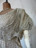 5 antique Maurice Mayer gown 1913