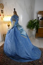 34 antique ball gown 1864