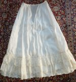 10 antique petticoat