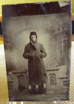2 antique ferrotype 1870