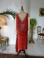 36 antikes Kleid WORTH 1920