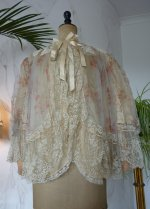 2 antique bed jacket