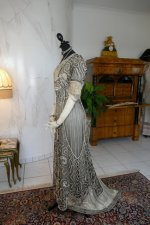 13 antique evening gown 1912