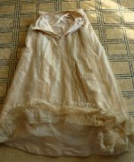 111 antique evening gown JEANNE HALLE 1899