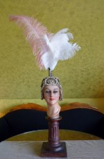 34 antique headpiece 1920