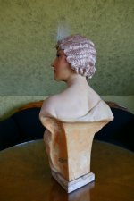 19 antique Pierre Imans wax mannequin 1920