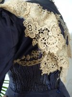 antique dress 1895 20
