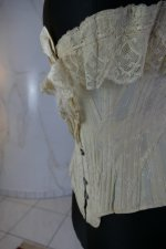 11 antique silk corset 1901