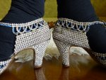 21 antique rhinestone shoes 1920