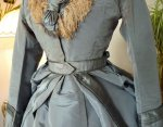 5 antique reception gown 1865