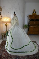 11 antique ball gown 1865
