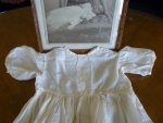 19 antique christening gown