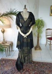 antique evening dress 1913