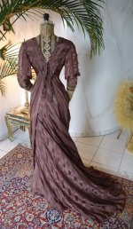 28 antique art nouveau dress