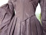 7 antique romantic period gown 1837