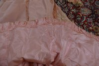 50 antique Rousset Paris society dress 1899