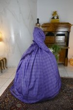 22 antique crinoline dress 1860