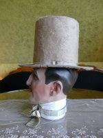 10 antique top Hat 1845