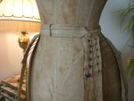 9 antique wire hoop skirt