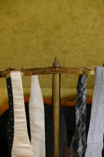 7 antique tie rack 1920