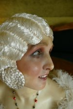 2 antique hair cloche 1920