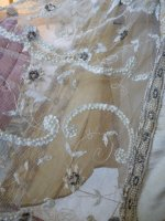 11c antique wedding dress 1920