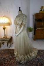 13 antique ball gown 1900