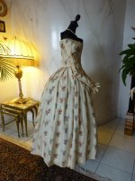 46 antique romantic period dress 1839