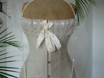 3 antique corset