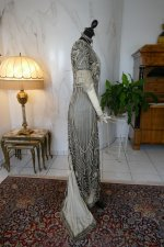 27 antique evening gown 1912