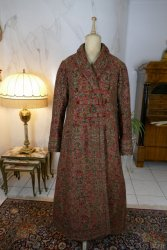 antique Mens dressing coat 1865