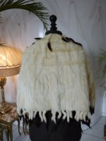 9 antique ermine cape