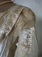 6 antique edwardian wedding dress 1909