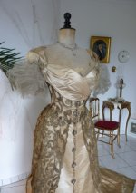 14 WORTH evening dress 1898