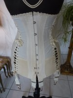 4 antique maternity corset 1910