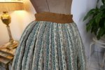 17 antique Biedermeier petticoat 1830